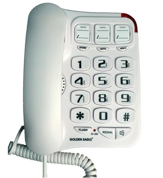 Home phone option for the elderly